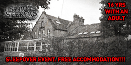 Consett and district ymca ghost hunts