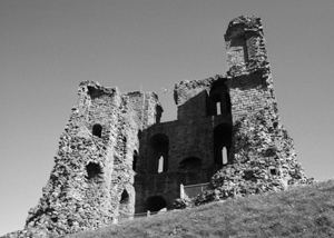 Ghostly Scarborough Castle